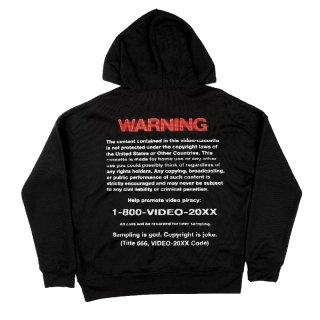 COPYRIGHT WARNING Hoodie / Video-20XX