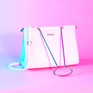 Binder Clip Bag [White] / Studio Cult