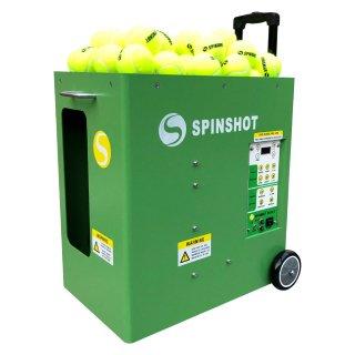 【最上位モデル】球出しマシン《スピンショット・プラス2(Spinshot Plus-2)》日本語サポート付