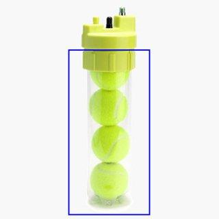 【テニスボール空気圧維持・回復装置】ボールレスキュー(Ball Rescuer)専用クランプ+ボトル(交換用)