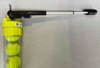 【テニスボール空気圧維持・回復装置】ボールレスキュー(Ball Rescuer)用 空気入れ アドバンス