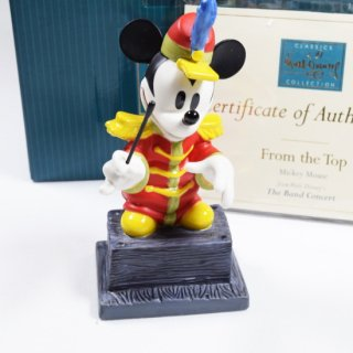 【WDCC】 The Band Concert Mickey Mouse From The Top