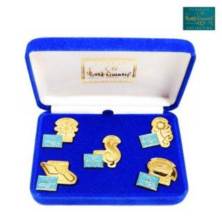 【WDCC】5th Anniversary Commemorative 5 Pin Set