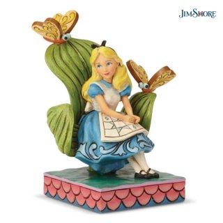 【取り寄せ】【JIM SHORE】ディズニートラディション:Alice In Wonderland