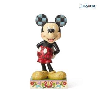 取り寄せ商品【JIM SHORE】ディズニートラディション:ミッキー ビッグフィギュア