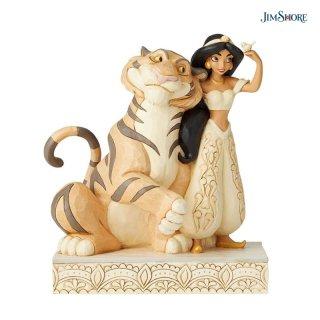 【JIM SHORE】ディズニートラディション:ジャスミン ホワイトウッドランド