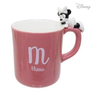 【マグカップ】:ミニーマウス おやすみマグカップ 260ml