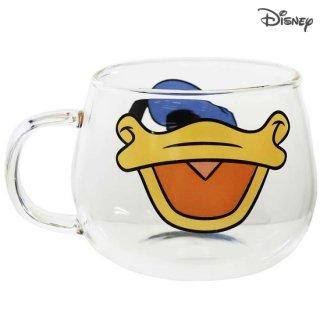 三郷陶器 ディズニー 耐熱ガラスマウスマグ:ドナルドダック