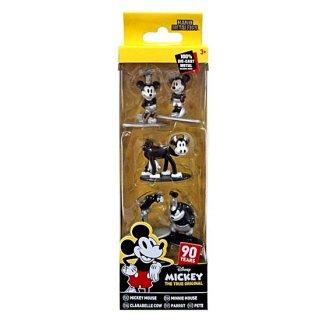 【U.S.A輸入商品】ミッキー90周年 Metalfigs:ミッキーマウス ナノメタルフィギュア(5-Pack)