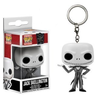 <img class='new_mark_img1' src='https://img.shop-pro.jp/img/new/icons61.gif' style='border:none;display:inline;margin:0px;padding:0px;width:auto;' /> Funko POP! Keychain:ナイトメアー・ビフォア・クリスマス ジャック・スケリントン