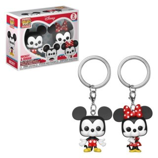 【Funko】 POP! Keychain: Disney - ミッキー&ミニー(2 Pack)