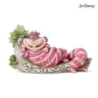 【JIM SHORE】ディズニートラディション:チェシャ猫 オン ツリー