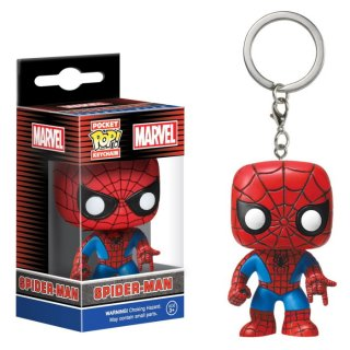 <img class='new_mark_img1' src='https://img.shop-pro.jp/img/new/icons61.gif' style='border:none;display:inline;margin:0px;padding:0px;width:auto;' />【Funko】ファンコキーチェーン:スパイダーマンキーホルダー