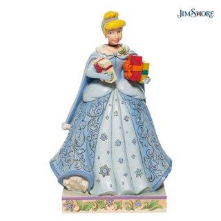 【JIM SHORE】ディズニートラディション:シンデレラ クリスマスギフト