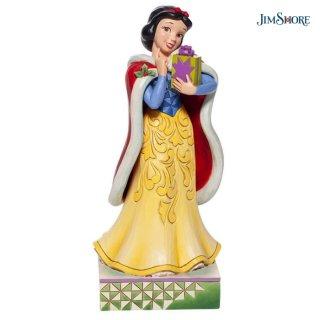 予約商品【JIM SHORE】ディズニートラディション:白雪姫 クリスマスギフト