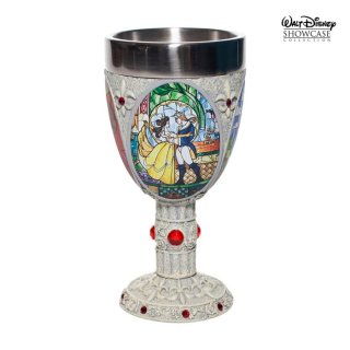 【Disney Showcase】ディズニーゴブレット 美女と野獣