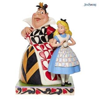 【JIM SHORE】ディズニートラディション:アリスとハートの女王