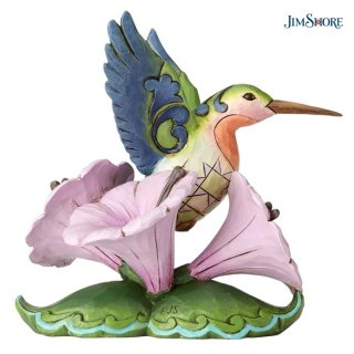 【JIM SHORE】ハートウッドクリーク:Mini Hummingbird Figurine