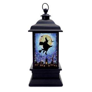 【予約商品】 ハロウィン商品:LEDランターン ウィッチ ブルー
