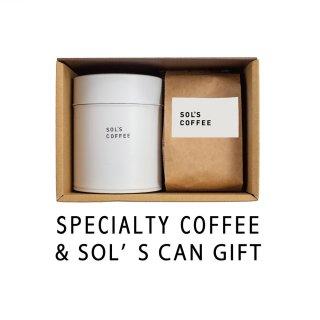 オリジナルコーヒー缶とスペシャルティコーヒー2種GIFT