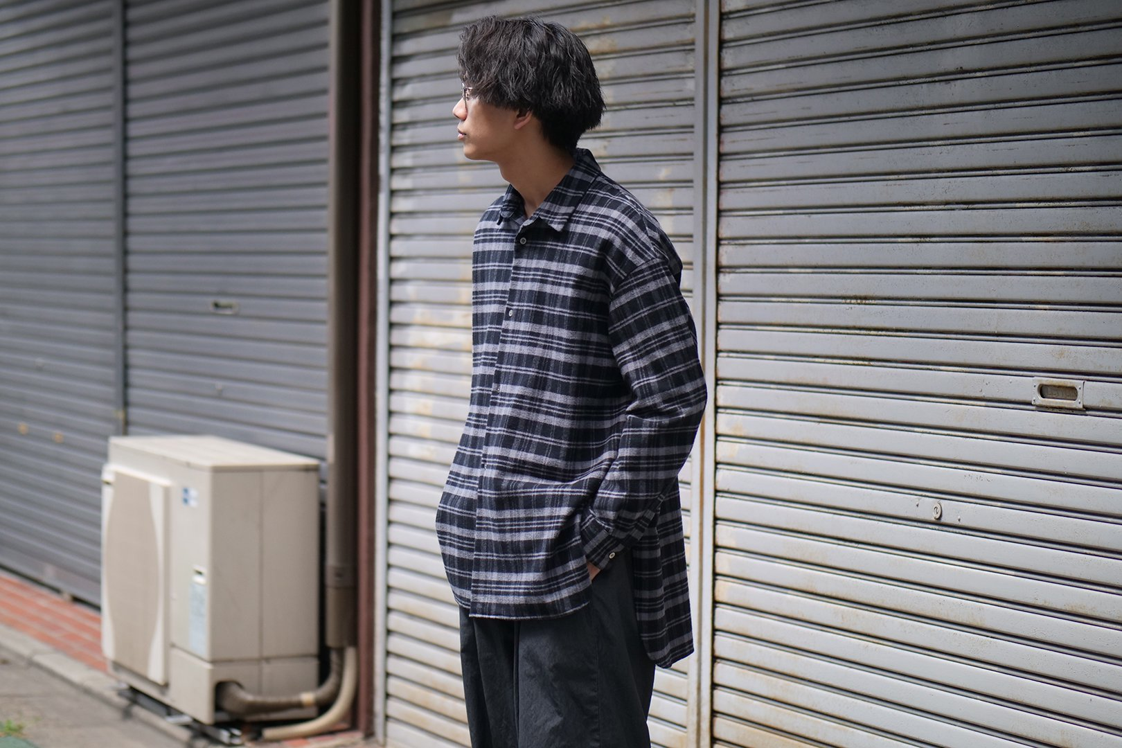 SHINYA KOZUKA / CLASSIC SHIRT for DAN