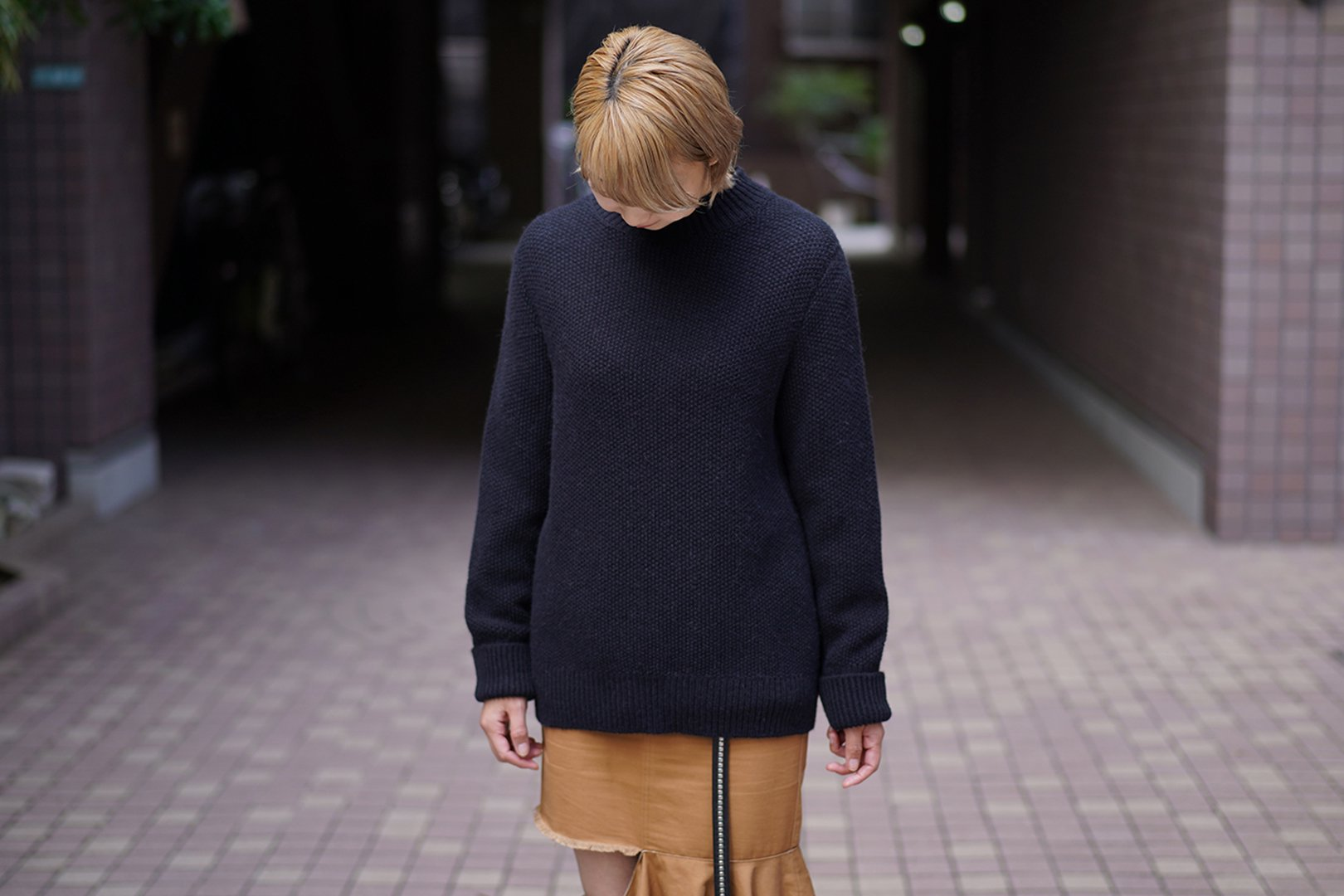 The Inoue Brothers / Mock Neck Sweater