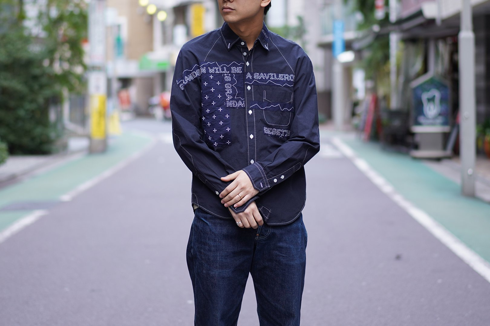 EESETT&Co / PATCHED SHIRT
