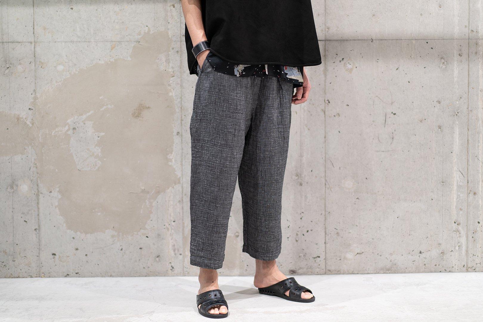 PORTER CLASSIC / SASHIKO LINEN PREMIUM PEACE PANTS