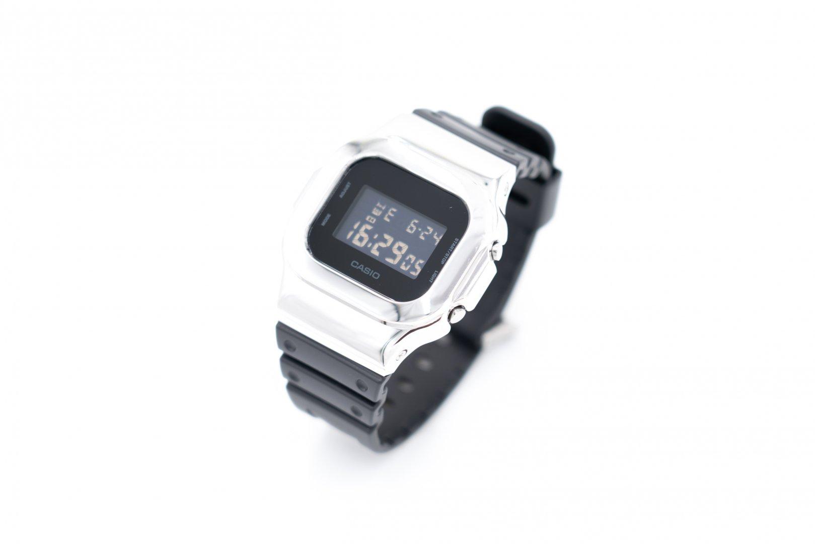 DAMUE / Custom G-SHOCK 5600 [Silver]