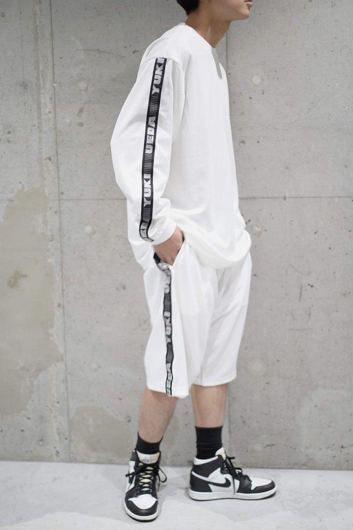 YUKI UEDA / ARM TAPE BASKETBALL L/S TEE