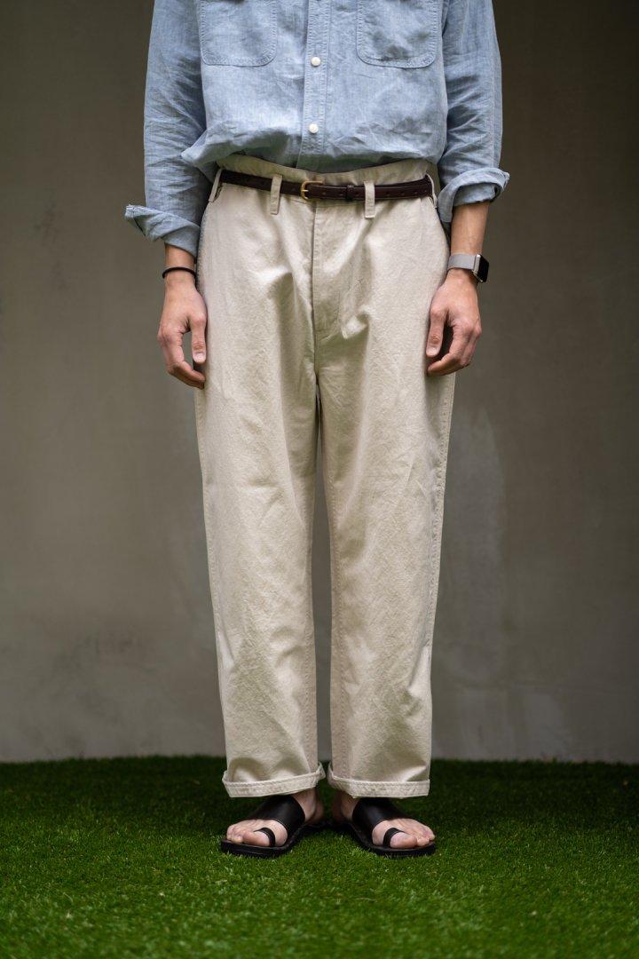 PORTER CLASSIC / B/E LINEN CLASSIC PANTS