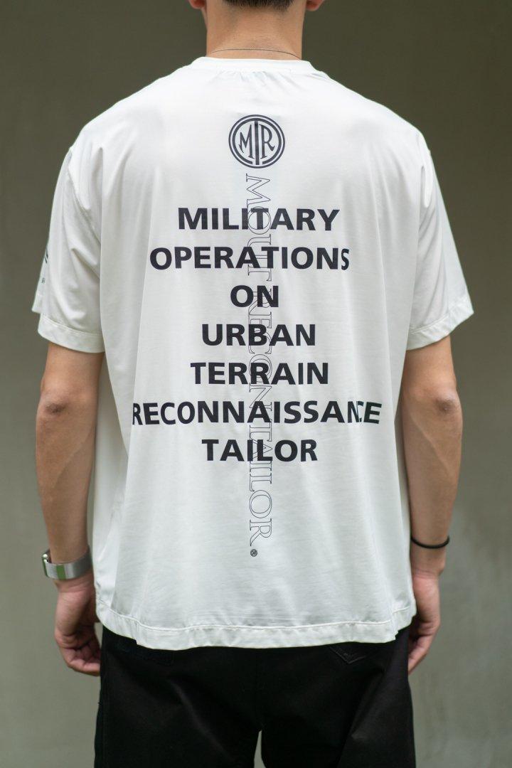 MOUT RECON TAILOR / MOUT Logo T-shirt -White-