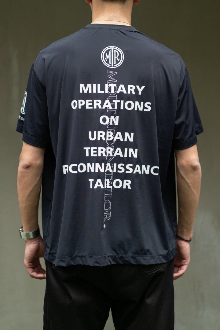 MOUT RECON TAILOR / MOUT Logo T-shirt -Black-