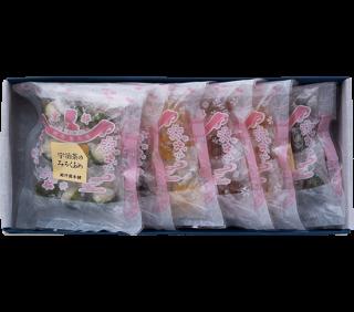 和の味セット 個包装8粒入り 6種