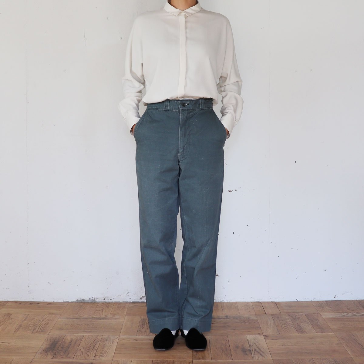 VINTAGE CHINO PANTS 詳細画像4