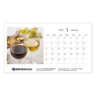 写真入り卓上カレンダー