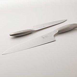 iiza イイザ 錆に強い日本製のステンレス本格牛刀包丁  21cm プレゼントにおすすめ