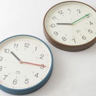 BRUNO|ブルーノ 細かな表記で時刻が読みやすいスタイリッシュなウォールクロック イージータイムクロック