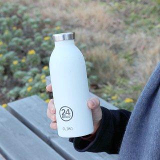 デザインを一新した二重構造の真空ステンレスボトル クリマボトル 500ml