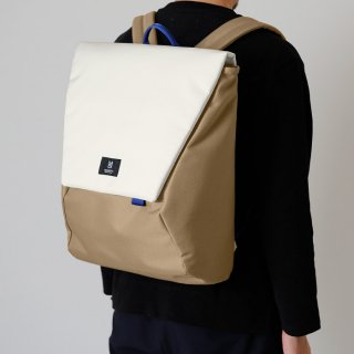 MILESTO|ミレスト Hutte 大容量でもスマートなフォルムが際立つ立体縫製のバックパック