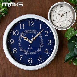 電波ウォールクロック 掛け時計 電波時計 アナログ 壁掛け時計 掛時計 時計 クロック 木目 アンティーク調 デザイン おしゃれ シンプル 北欧 インテリア かわいい 引越し 雑貨 新生活