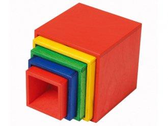 スタックボックス 入れ子の箱おもちゃ