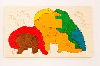 2重パズル・ディノサウルス ジョージラック