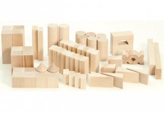 BLOCKS・スターターセット・大 白木の積み木セット