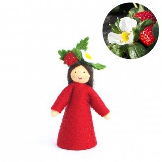 いちごの妖精 頭に花 ベージュ Ambrosius fairy/アンブロシウス フェアリー 夏の妖精
