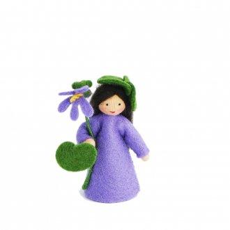 すみれの妖精 手に花 ベージュ Ambrosius fairy/アンブロシウス フェアリー