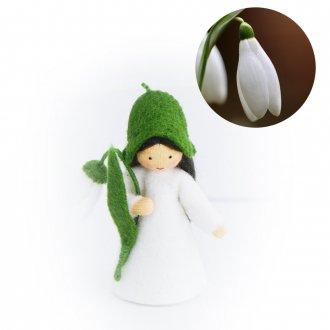 スノードロップ Girl ベージュ Ambrosius Dolls/アンブロシウス ドール 春の妖精