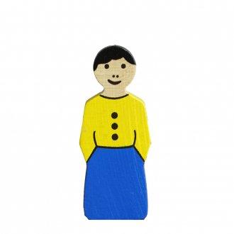 A女の人/  アルビスブランの動物積み木
