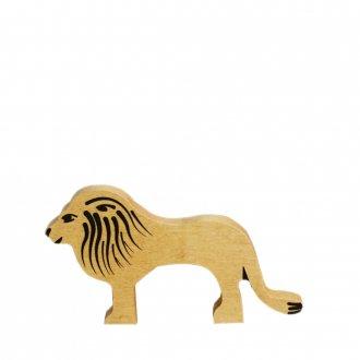 Aライオン(オス)/  アルビスブランの動物積み木