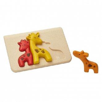 キリンのパズル PLAN TOYS/プラントイ社